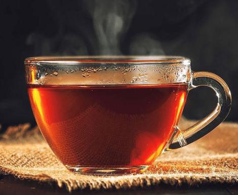 Chá Preto Baunilha e Caramelo